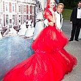 Natalia Vodianova in custom Valentino, Valentino Garavani