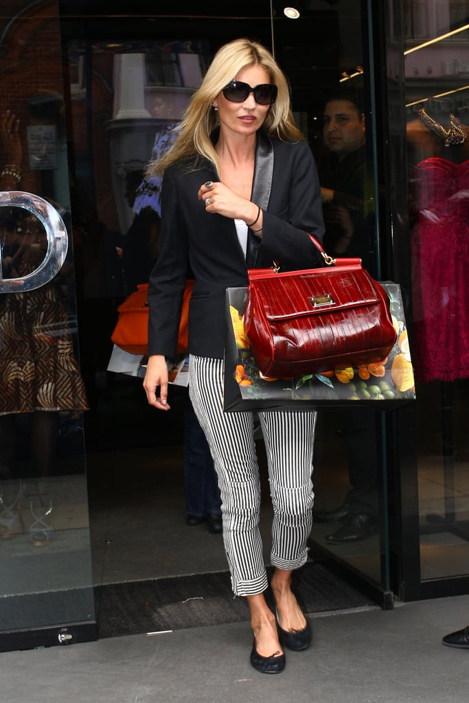 Kate Moss and Jamie Hince Shop London With 11 Days to Go Before Their Wedding!