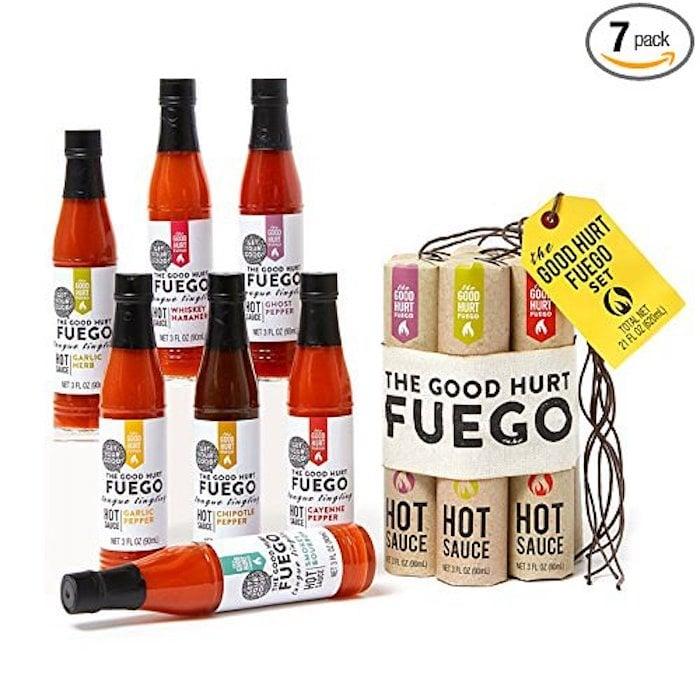 The Good Hurt Fuego Hot Sauce Sampler Set