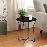 End Table in Metal Black