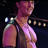 Matthew McConaughey is full of charisma on stage.