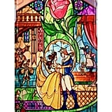 Beauty and the Beast Stained Glass case ($31)