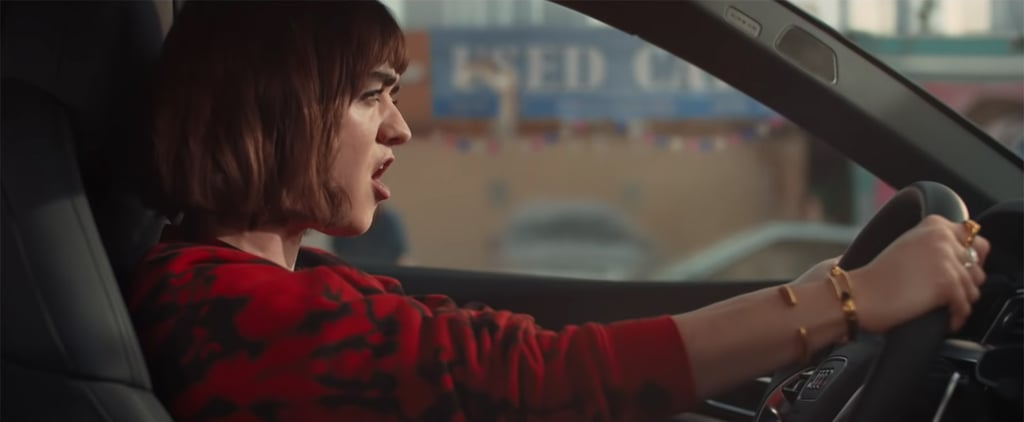"Watch Maisie Williams Sing ""Let It Go"" in Audi Super Bowl Ad"
