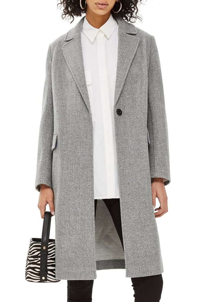 Topshop Lily Knit Back Midi Coat Best Coats For Women On Sale 2019