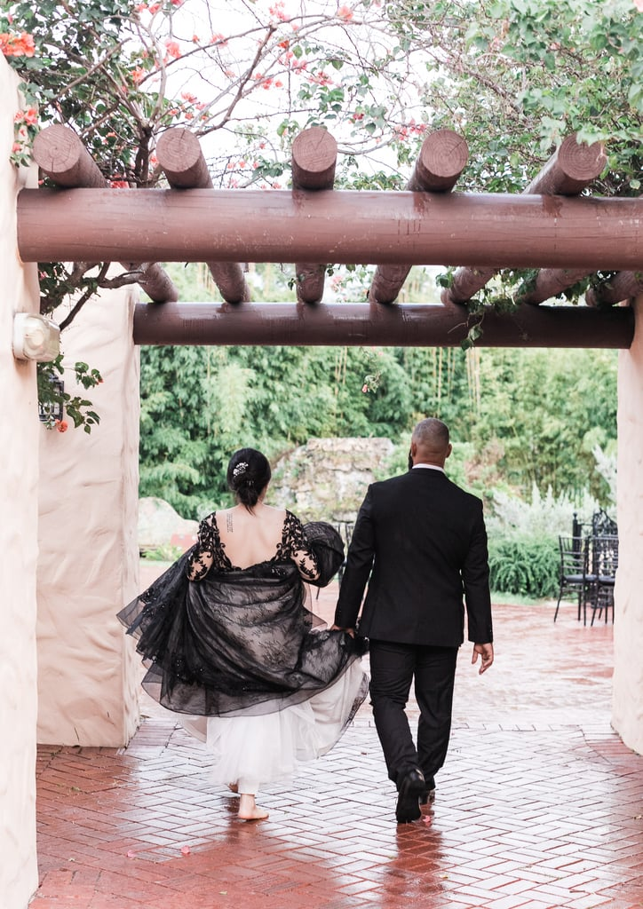 This Gothic Halloween-Inspired Wedding Is So Romantic