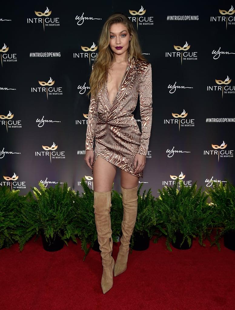Gigi Hadid's 21st Birthday Dress in Las Vegas