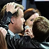 James Corden Gets Bieber Fever