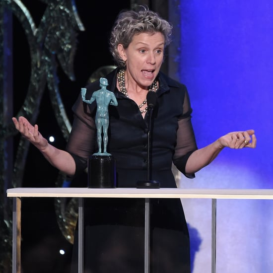 Frances McDormand SAG Awards Speech 2015