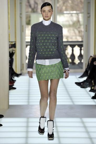 Balenciaga 2010 Winter Paris Fashion Week Show