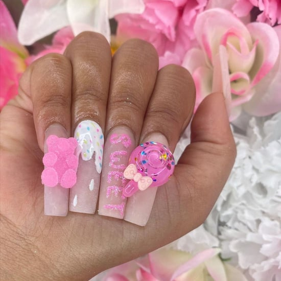 Try the Candy Nail-Art Trend Before Summer Ends