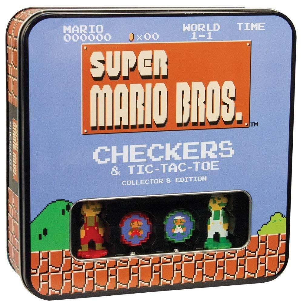 Super Mario Bros  Tic-Tac-Toe Collector's Edition Board Game | Geeky
