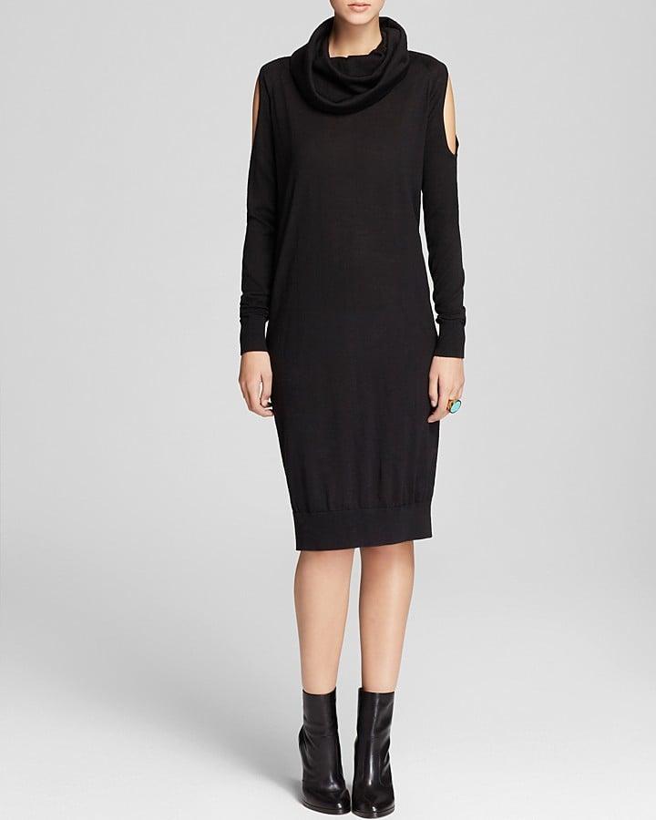 The Cold Shoulder Sweater Dress