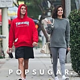 Selena Gomez and Justin Bieber Out in LA November 2017
