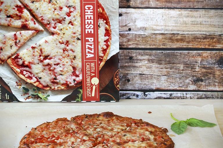 Trader Joe's Cheese Pizza With a Cauliflower Crust