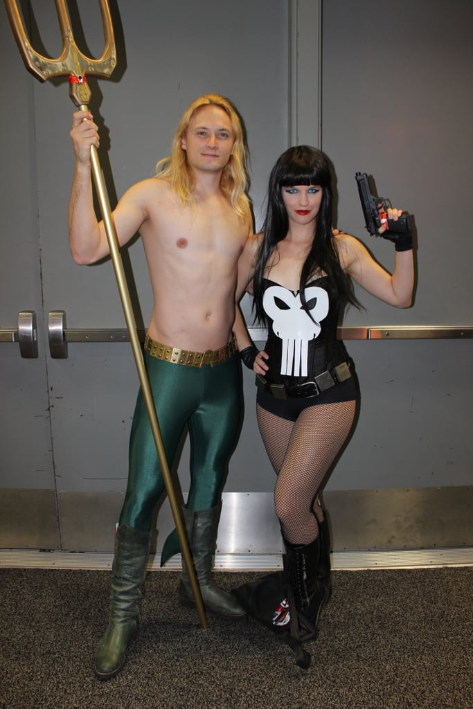 Aquaman and The Punisher