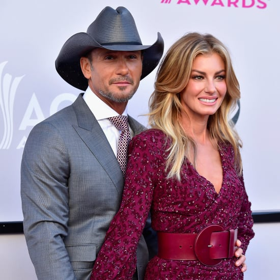 Faith Hill and Tim McGraw at the 2017 ACM Awards
