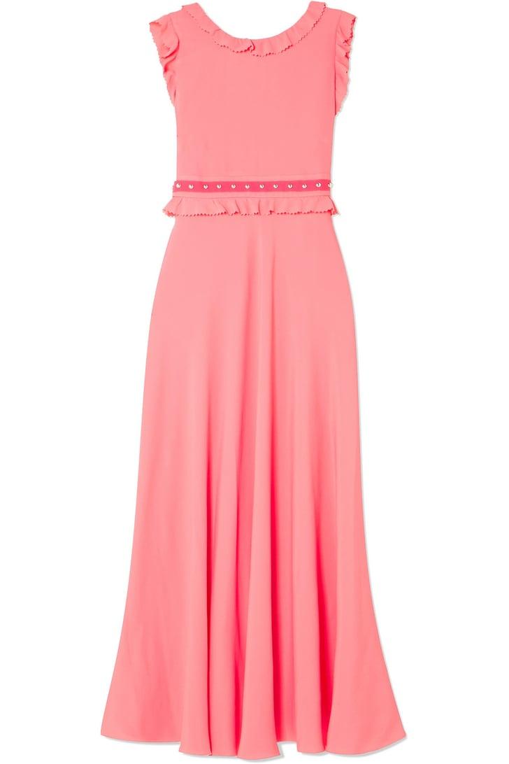 Red Valentino Dress | Victoria Beckham's Pink Dress on Her ...