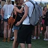Sarah Hyland and boyfriend Matt Prokop shared a sweet moment.