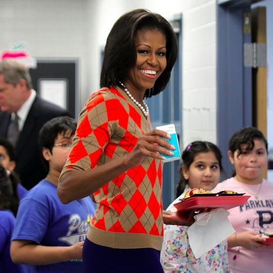 Michelle Obama Wearing J.Crew