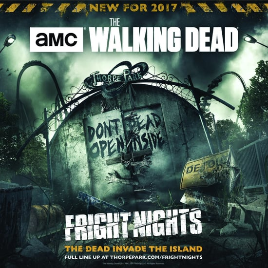 The Walking Dead Scare Mazes at Thorpe Park Fright Night