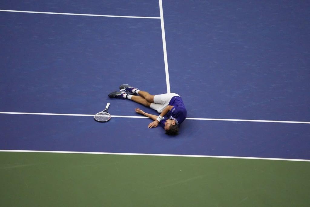 Daniil Medvedev Celebrates 2021 US Open Win Over Novak Djokovic
