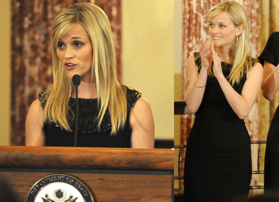 Photos of Reese Witherspoon in Washington DC on Behalf of Avon