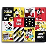 Disney's Mickey Mouse 90th Anniversary 12 Days of Socks Advent Calendar Set