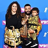 Nicole Tuck, DJ Khaled and son Asahd Tuck Khaled