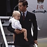 Prince William Traveling With Dad