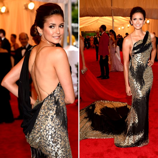 Nina Dobrev at Met Gala 2012