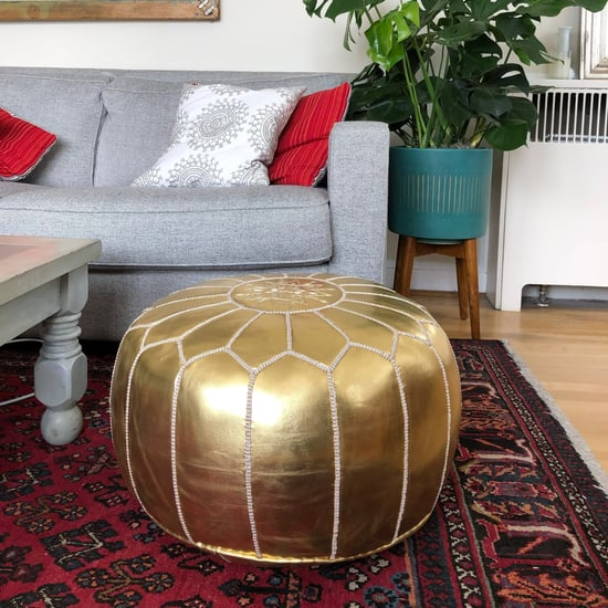 The Best Leather Moroccan Pouf on Amazon