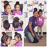 This Teacher Went the Extra Mile to Help a Student Learn to Love Her Hairstyle