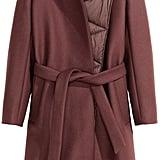 Wool-Blend Coat ($249)
