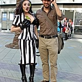 Beetlejuice and Indiana Jones