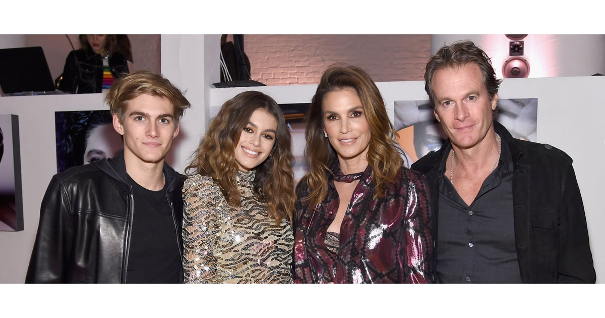 Kaia Gerber Has the Support of Her Genetically-Blessed Family on a Big Night in NYC