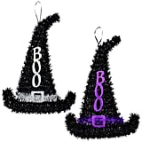 Tinsel Witch Hat Decorations