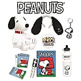 Peanuts Showbag ($25) Includes:  Snoopy plush toy  Notebook  Earmuffs