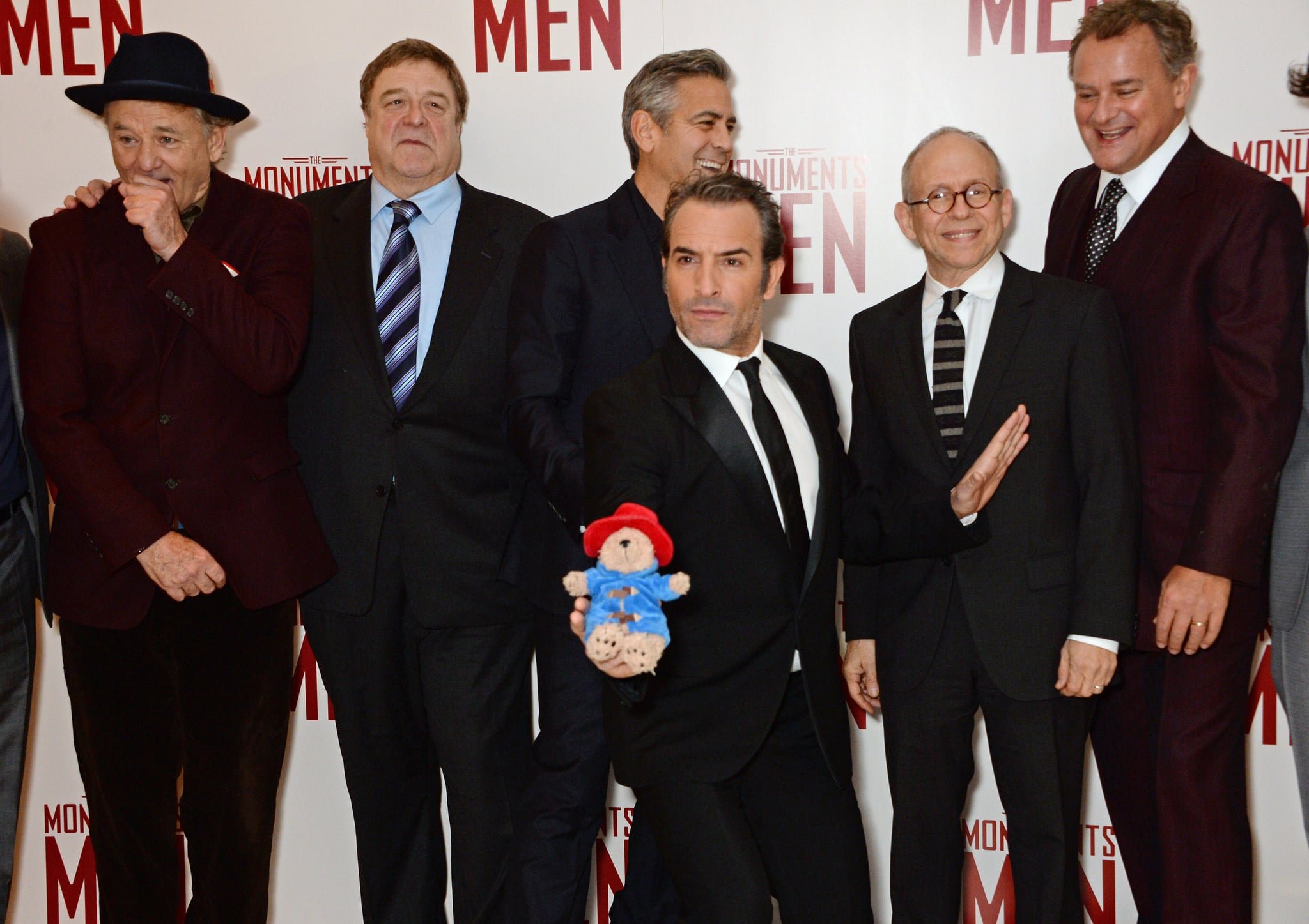 Someone made the mistake of giving these guys a Paddington Bear, which they promptly took silly photos with.