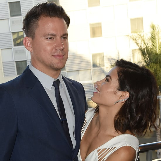 Channing Tatum Jenna Dewan at Dizzy Feet Foundation Pictures