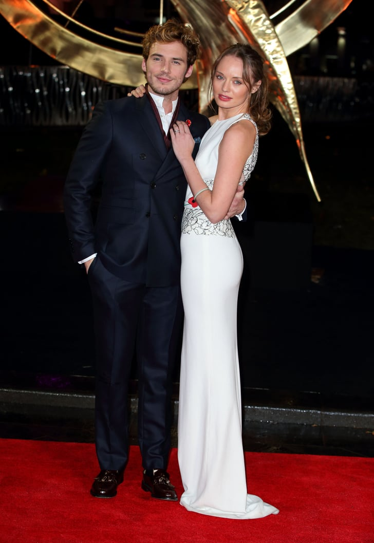 Sam Claflin brought his wife, Laura Haddock, to the ...