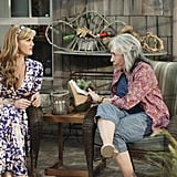 Sara Rue and Lily Tomlin in Malibu Country.