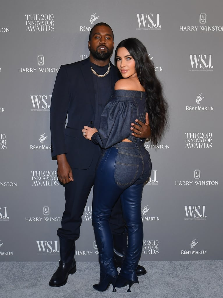 Kim Kardashian and Kanye West at the WSJ. Magazine 2019 Innovator Awards