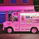 Buy ice cream from a truck.