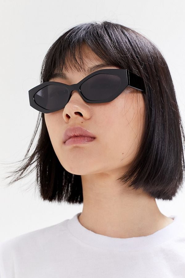 Aster Chunky Oval Sunglasses