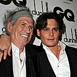Johnny Depp and pal Keith Richards.