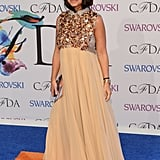 Miroslava Duma at the 2014 CFDA Awards