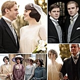 """Till Downton Do Us Part: Matthew and Mary's Wedding Album After two seasons of will they or won't they, the answer came out as an """"I do"""" for Matthew and Mary Crawley on the season three opener of Downton Abbey. The eldest Crawley daughter and her (very) distant cousin Matthew finally tied the knot in the long-awaited episode, after a few bumps along the way — including a fight on the eve of their wedding that threatened their impending nuptials. But despite all odds, the stubborn pair made it official in a grandiose early-'20s-style affair fit for the daughter of the Earl and Countess of Grantham. See the beautiful photos from Matthew and Mary's wedding — from the Crawley ladies getting ready to Robert walking Mary down the aisle — now! Source: PBS"""