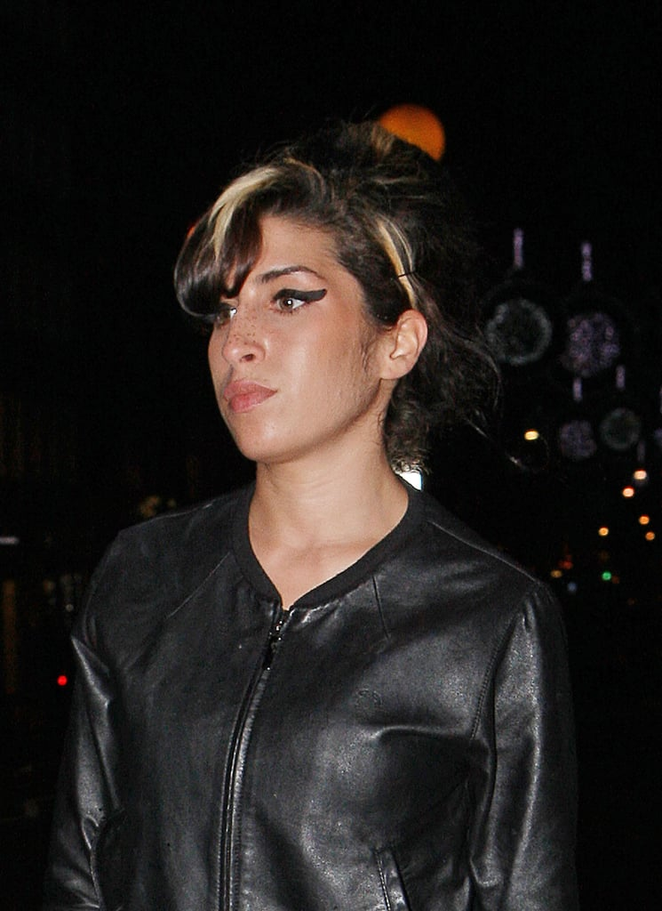 Photos of Amy Winehouse Wearing Engagement Ring