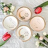 Floral Zodiac Jewelry Dish