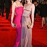 Daisy Lowe and Portia Freeman